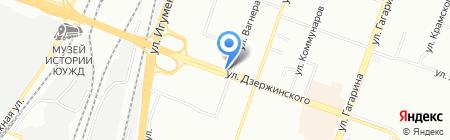 Киоск по продаже мороженого на карте Челябинска