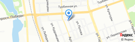 Общественный Защитник на карте Челябинска