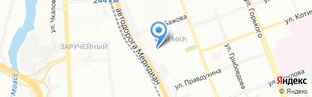 Продуктовый магазин на ул. Либединского на карте Челябинска
