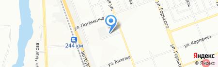 Следственный изолятор №3 на карте Челябинска
