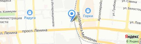 АВТОХИТ на карте Челябинска