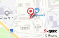Схема проезда до компании Содействие в Челябинске