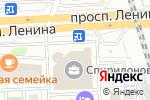 Схема проезда до компании Яблоко в Челябинске