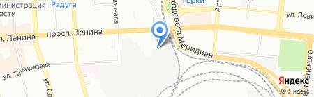 РЭО ТЭЗИС на карте Челябинска