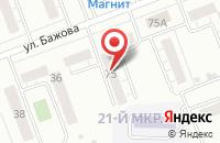 Схема проезда до компании Спецгидросервис в Челябинске