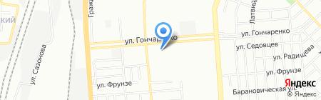 Инга на карте Челябинска
