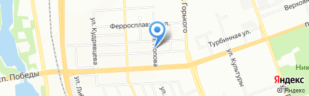 Автокент на карте Челябинска