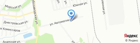 Урал Балкон на карте Челябинска