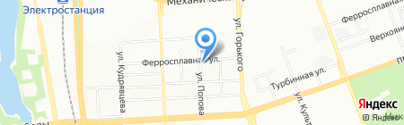DaCar на карте Челябинска