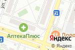Схема проезда до компании Уральский богатырь в Челябинске