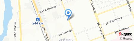 Технологический колледж на карте Челябинска