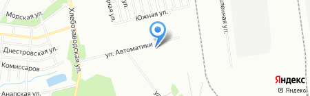Гарант-Энерго на карте Челябинска
