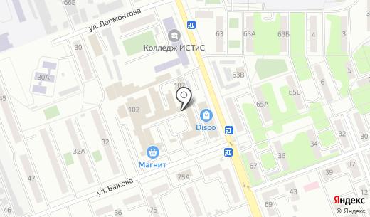 Фулл-Комплект. Схема проезда в Челябинске
