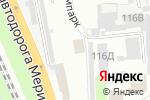 Схема проезда до компании Высота74 в Челябинске