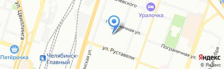 Детский сад №474 на карте Челябинска