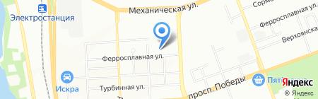 УралПромАвто на карте Челябинска