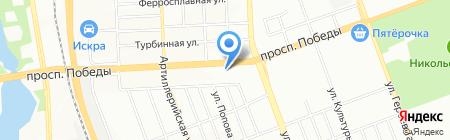 ЮжУрал-Аско на карте Челябинска