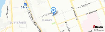 КанцЛидер на карте Челябинска
