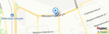 Уралспецмонтажналадка на карте Челябинска