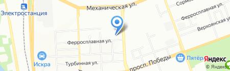 Южно-Уральский Центр утилизации медицинских отходов на карте Челябинска