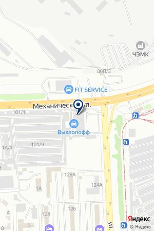 УРАЛСПЕЦТЕХНИКА на карте Челябинска