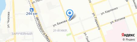 Натали на карте Челябинска
