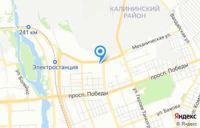 Местоположение на карте пункта техосмотра по адресу г Челябинск, ул Механическая, д 101