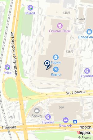 МАГАЗИН-САЛОН ADIDAS (АДИДАС) на карте Челябинска