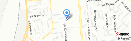 Огонек на карте Челябинска