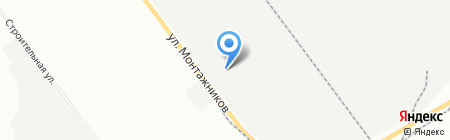 Тандем на карте Челябинска
