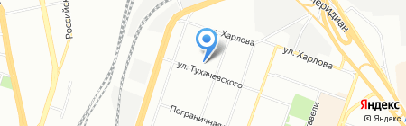 Детский сад №261 на карте Челябинска