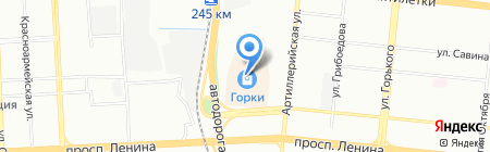 Банкомат Углеметбанк на карте Челябинска