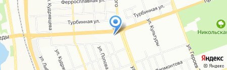 Агротехник на карте Челябинска