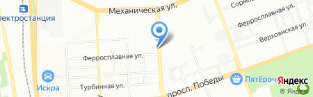 СитиЛайт на карте Челябинска