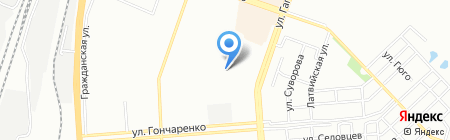 Детский сад №434 на карте Челябинска