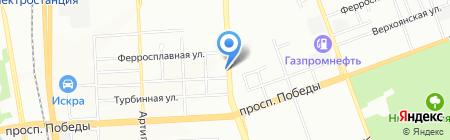 Виакорп на карте Челябинска
