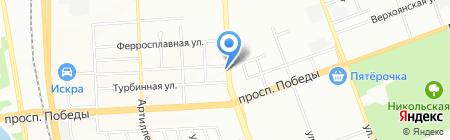КВАТТ-РО на карте Челябинска