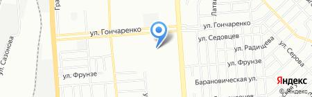 Детский сад №267 на карте Челябинска