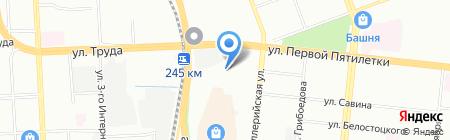 Мельинвест74 на карте Челябинска