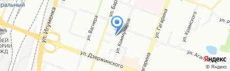 Челябэнергострой на карте Челябинска