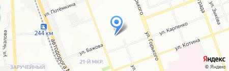 Пивка для рывка на карте Челябинска