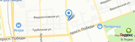 Универсальный на карте Челябинска