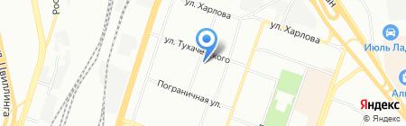 Уральский умелец на карте Челябинска