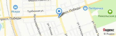 Банкомат Лето Банк на карте Челябинска