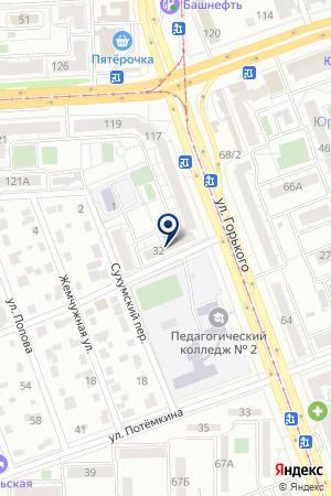 ТелеРемонт74 на карте Челябинска