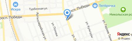 Рабочий стиль на карте Челябинска