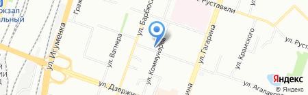 Эльвада на карте Челябинска