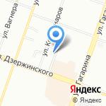 Салон мебели на карте Челябинска