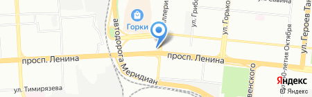 Майя на карте Челябинска