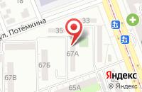 Схема проезда до компании Аланком в Челябинске